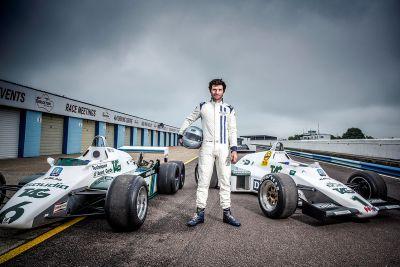 Guy Martin bestuurt Williams F1