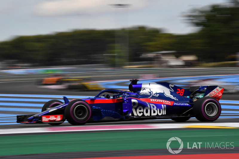 P14: Brendon Hartley, Scuderia Toro Rosso STR13