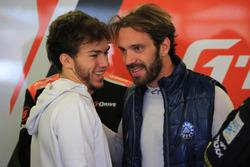 Pierre Gasly ve Jean-Eric Vergne, G-Drive Racing