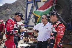 Giniel de Villiers, Mathieu Beaumel, Toyota Gazoo Racing