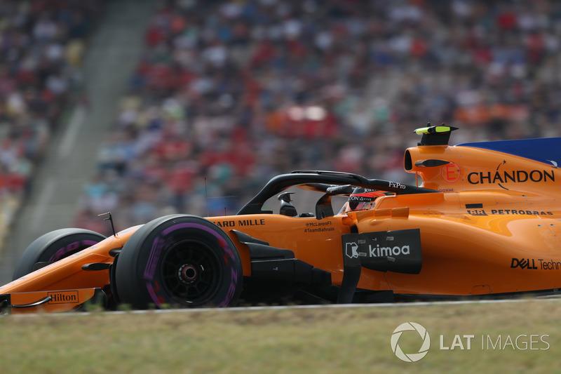 Вандорн и McLaren решают сойти в середине гонки. Но в итоге бельгиец продолжил заезд