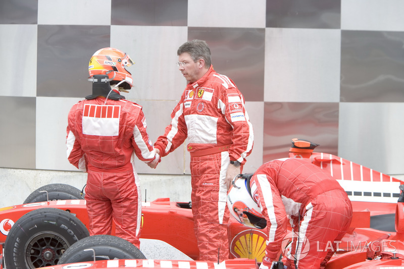 Michael Schumacher, Ferrari con Ross Brawn, Ferrari