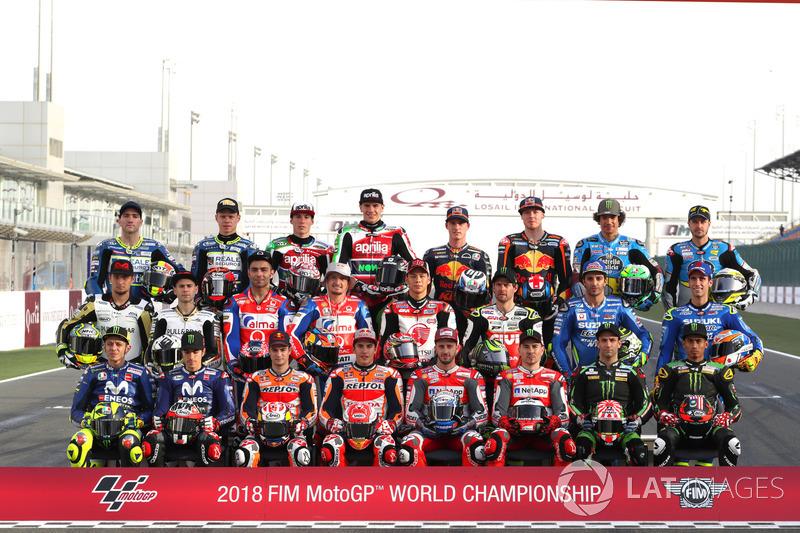 Alineación de pilotos de MotoGP