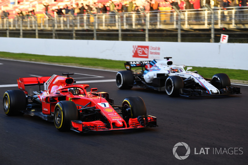 Kimi Raikkonen, Ferrari SF71H practice starts