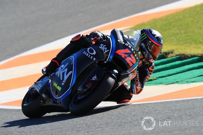 Франческо Баньяя - №42, Moto2, 2018 рік