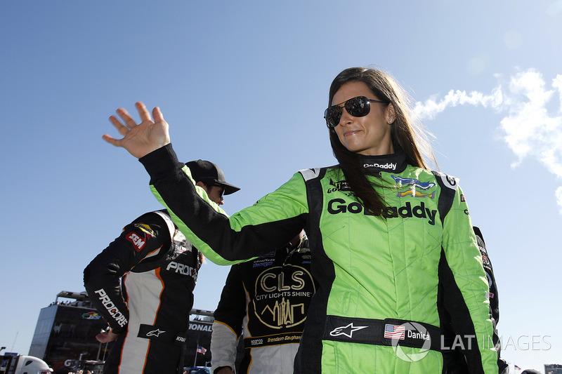 Em sua corrida de despedida na NASCAR, nas 500 Milhas de Daytona de 2018