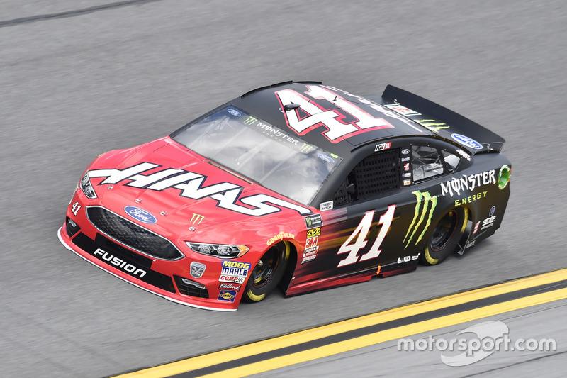 Kurt Busch, Stewart-Haas Racing, Haas Automation/Monster Energy Ford Fusion