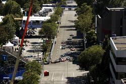 Sébastien Buemi, Renault e.Dams, se bloquea en el inicio de la carrera