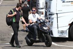 #63 GRT Grasser Racing Team, Lamborghini Huracan GT3: Mirko Bortolotti; Gottfried Grasser, Teambesitzer