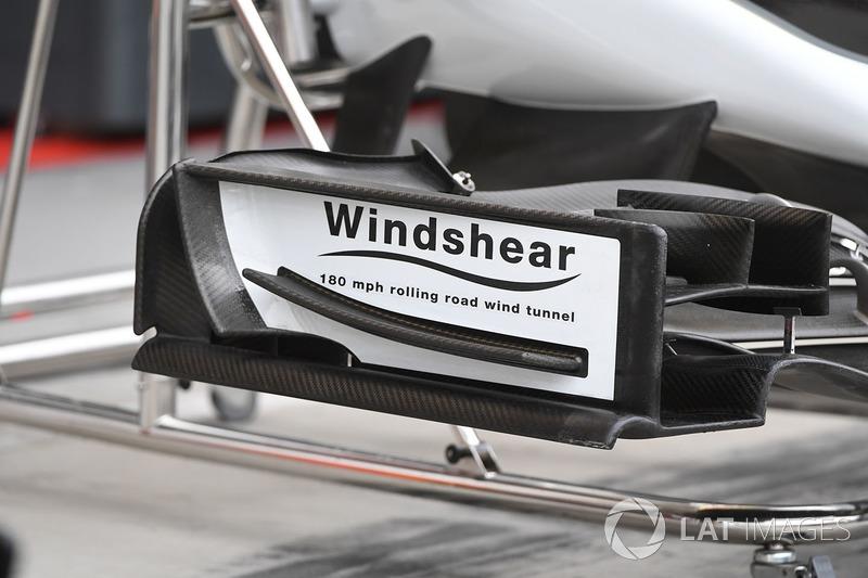 Haas VF-17: Nase und Frontflügel