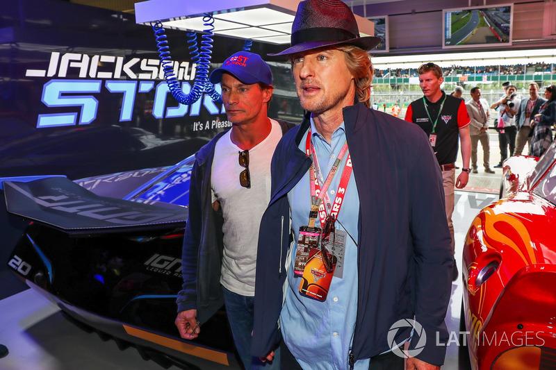 Owen Wilson, Actor en el garaje de cars 3