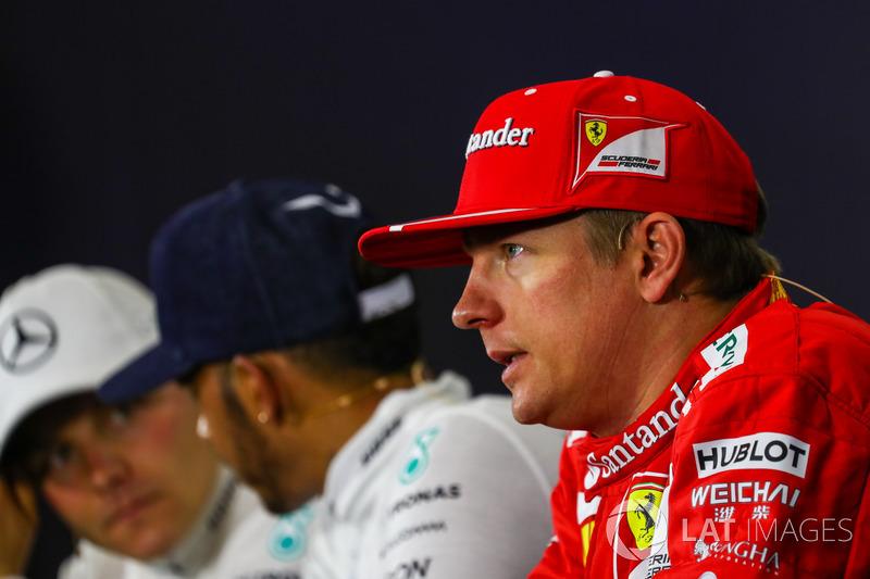 Kimi Raikkonen, Ferrari en la conferencia