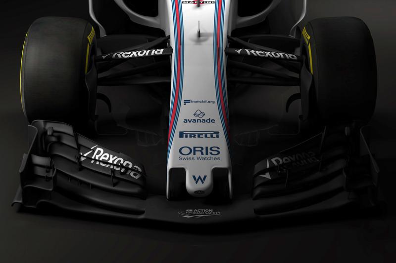 Williams FW40, dettaglio dell'ala anteriore
