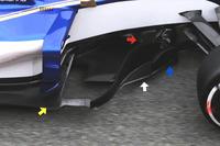 Дефлекторы Sauber C36