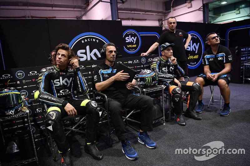 Pietro Caprara, Sky Racing Team VR46 director técnico