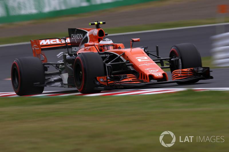 9: Stoffel Vandoorne, McLaren MCL32