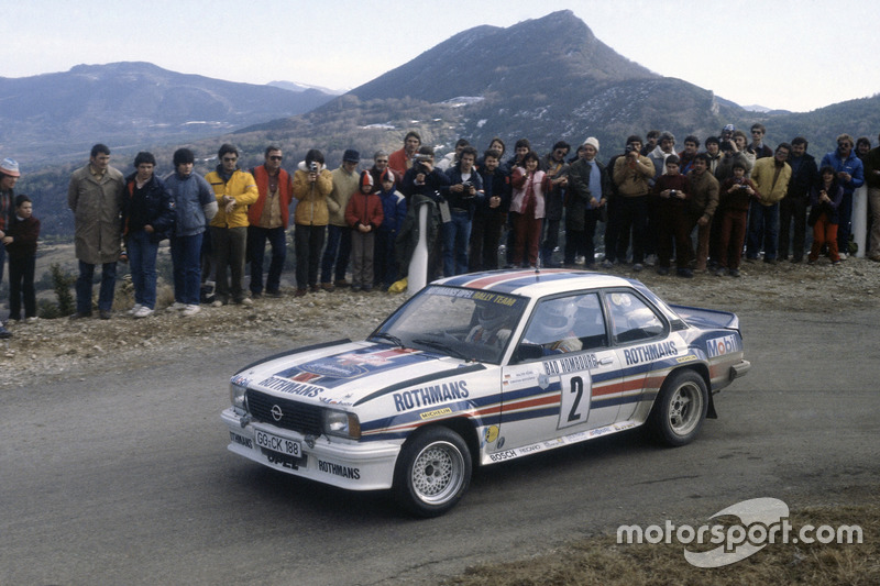 1982: Walter Rohrl, Opel Ascona 400