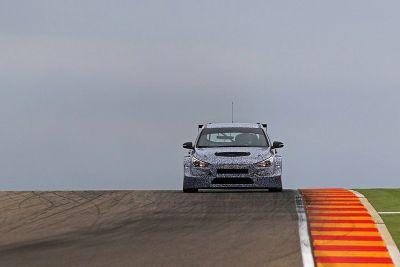 Тесты Hyundai i30 TCR