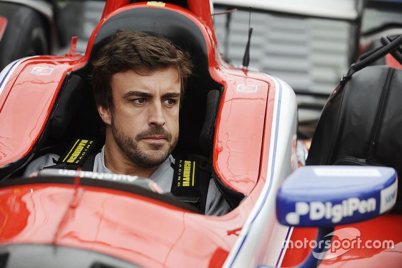 IndyCar Fotogallery: Alonso su una IndyCar