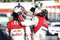 1. Mattias Ekström, Audi Sport Team Abt Sportsline, Audi A5 DTM; 3. Nico Müller, Audi Sport Team Abt Sportsline, Audi RS 5 DTM