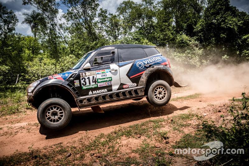 #314 X-Raid Team Mini: Boris Garafulic, Filipe Palmeiro