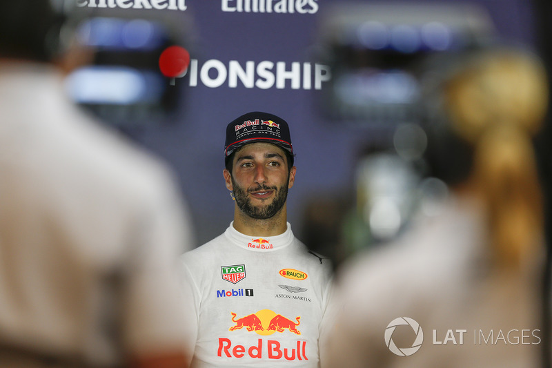 Press conference: third place Daniel Ricciardo, Red Bull Racing