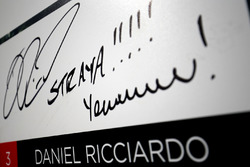 Daniel Ricciardo, Red Bull Racing firma