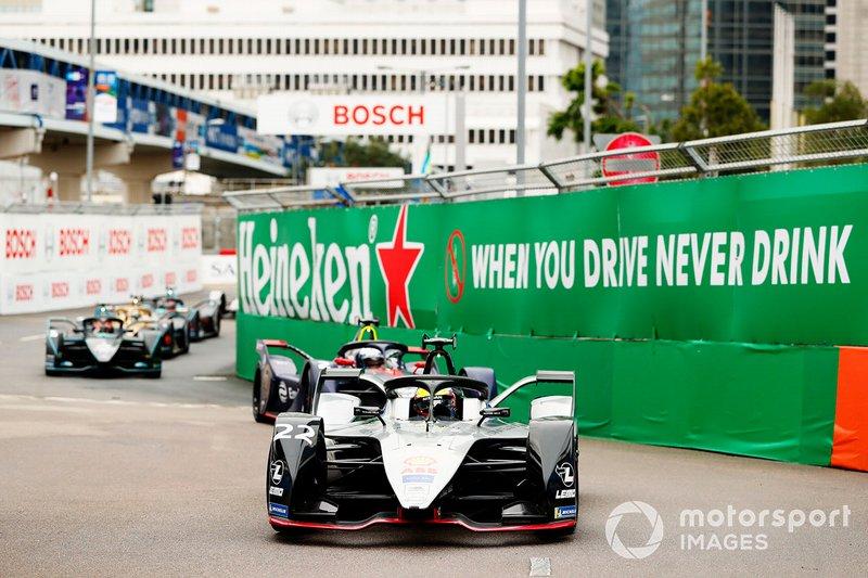 Oliver Rowland, Nissan e.Dams, Nissan IMO1, alla partenza della gara