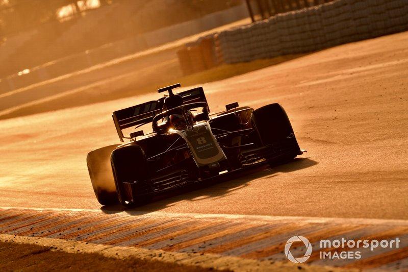 Romain Grosjean, Haas F1 Team VF-19 Ferrari