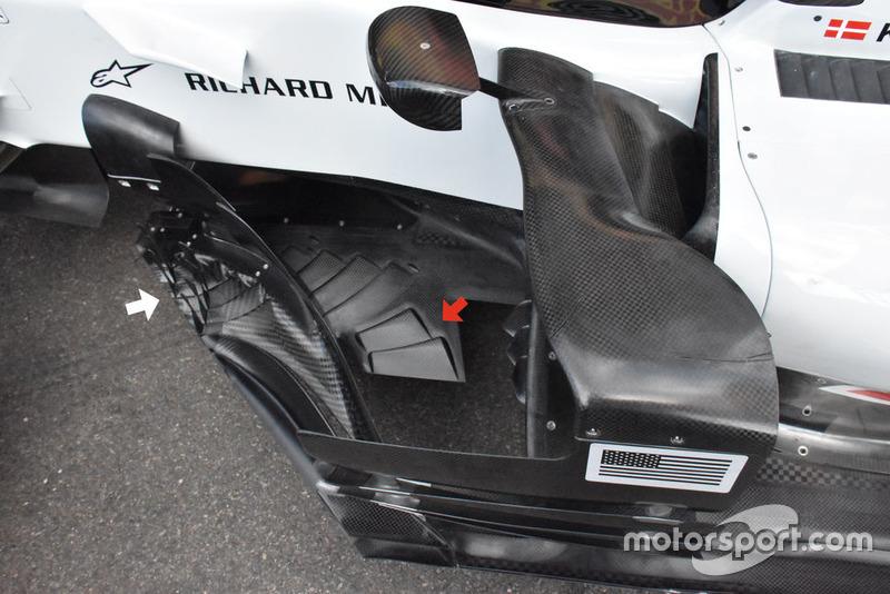 Fondo plano del Haas F1 Team VF-18