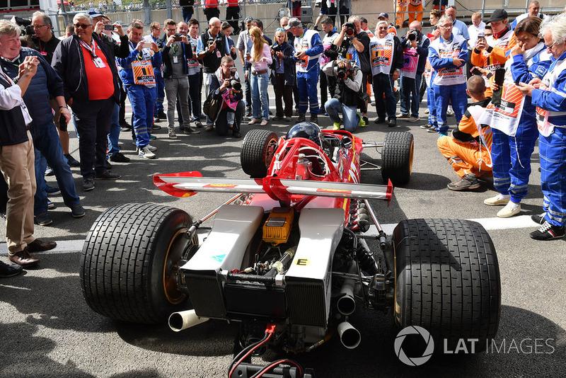 Жакі Ікс, Ferrari 312B