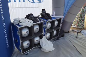 Caschi ed equipaggiamento Hyundai Motorsport