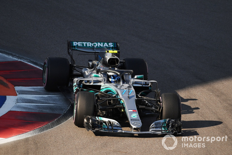 1: Валттери Боттас, Mercedes AMG F1 W09, 1'31.387