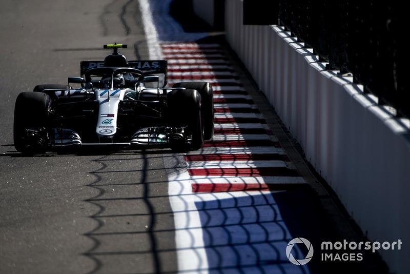 Russie - Valtteri Bottas, Mercedes