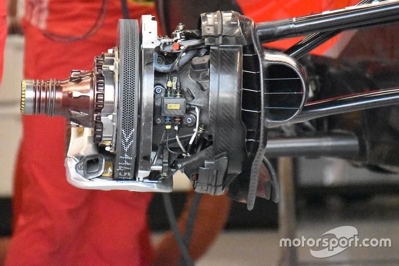 Ferrari fren detayı