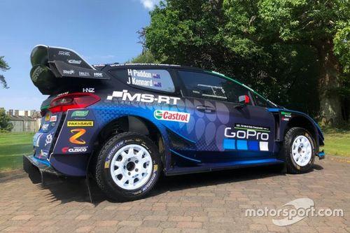 Presentazione della Fiesta WRC di Paddon