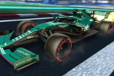 Rocket Ligi F1 tasarımları