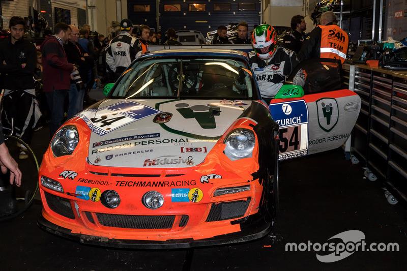 #54 raceunion Teichmann Racing, Porsche 911 GT3 Cup: Airgee, Alex Autumn, Milan Kodidek, Andrea Perlini