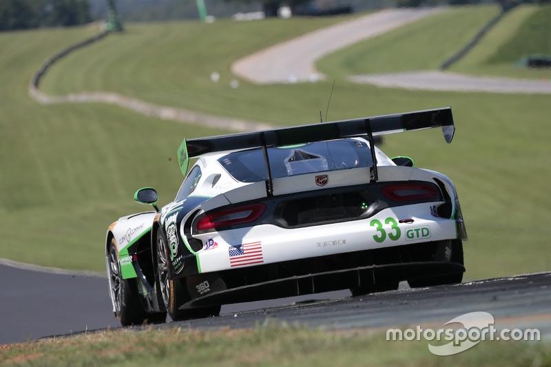 #33 Riley Motorsports SRT Viper GT3-R: Ben Keating, Jeroen Bleekemolen