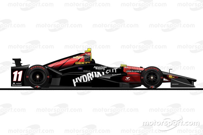 Startpositie 19: Sébastien Bourdais (KV-Chevrolet)