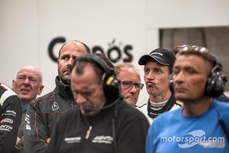 #86 AMG-Team HTP Motorsport, Mercedes-AMG GT3: Thomas Jäger