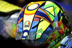 Valentino Rossi, Yamaha Factory Racing, avec le numéro 58 de Marco Simoncelli sur son casque