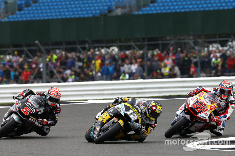 Johann Zarco, Ajo Motorsport, Sam Lowes, Federal Oil Gresini Moto2, Thomas Lüthi, Interwetten