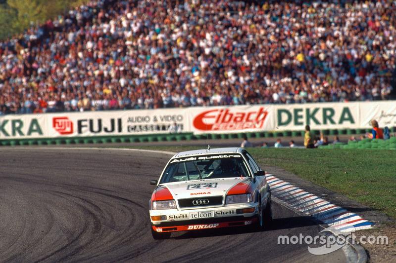 Das erste Audi-Werksauto in der DTM