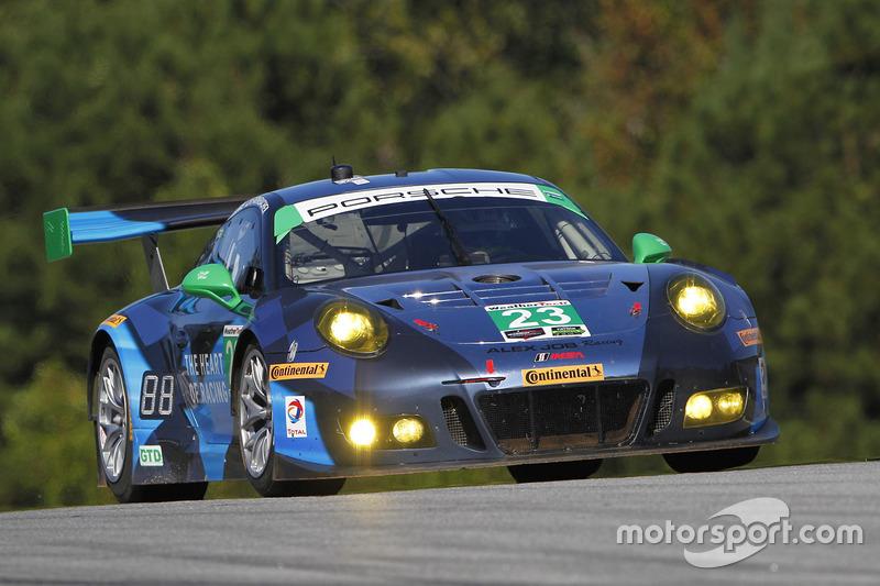 #23 Team Seattle/Alex Job Racing, Porsche GT3 R: Mario Farnbacher, Alex Riberas, Ian James