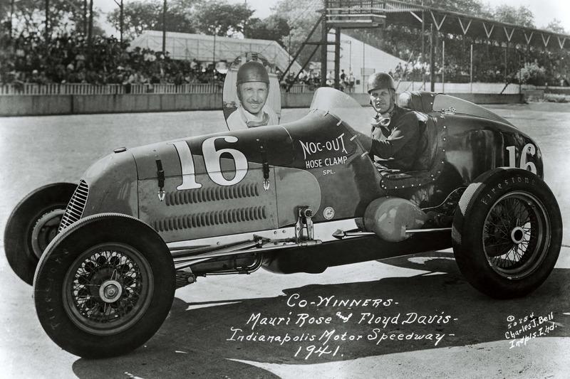 1941: Floyd Davis en Mauri Rose