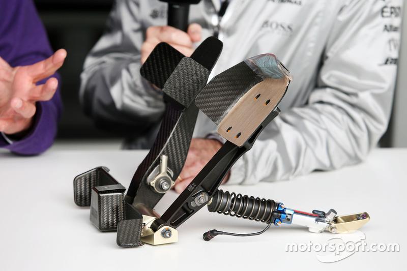 F1 pedals