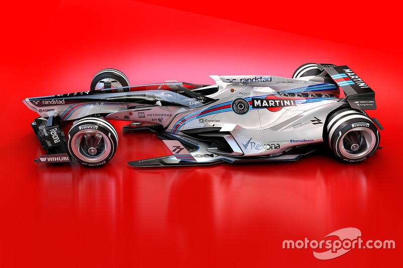 Designstudie: Williams 2030