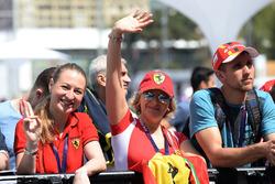 Des fans de Ferrari