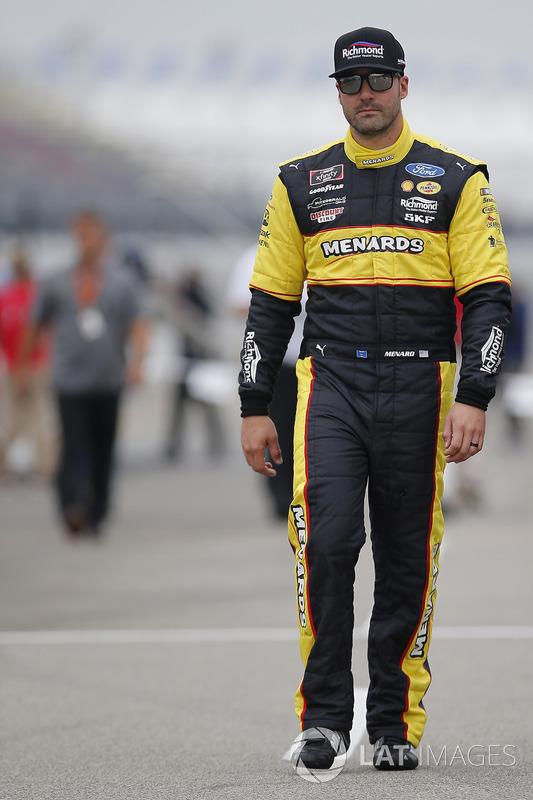 Paul Menard, Team Penske, Ford Mustang Menards/Richmond